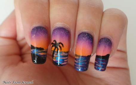 Sunset Nails Ed